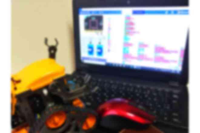 プログラムとロボットを一緒に勉強しちゃえ!
