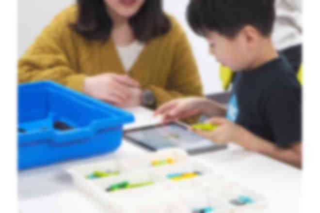 小さなお子さまでも簡単にプログラミング