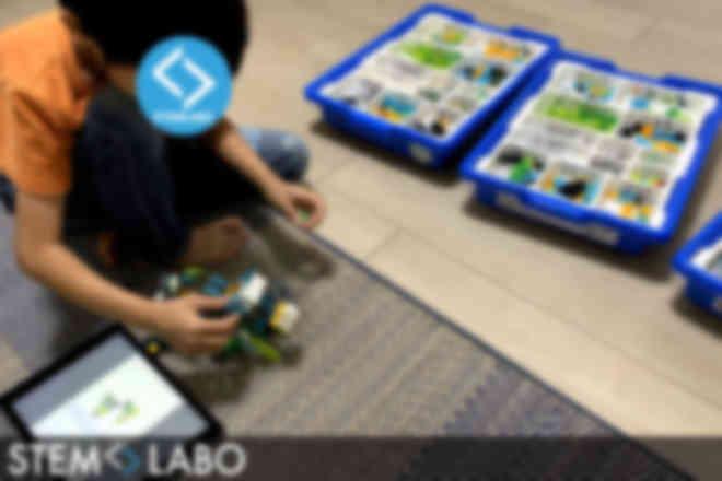 授業の様子(LEGOコース)