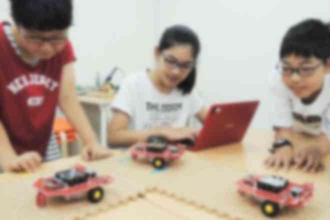 ロボットチャレンジコース授業風景