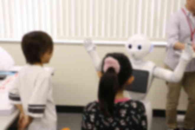 人型ロボット教室 by Pepper