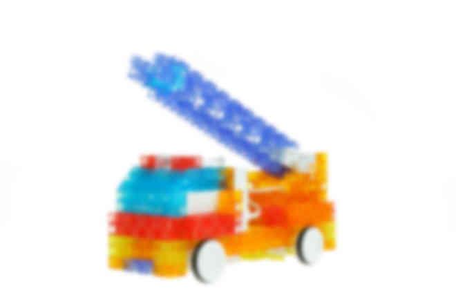 ロボット製作例:消防車