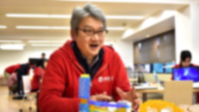 WAO! LABでロボットプログラミング講座を運営する野々宮 英二氏