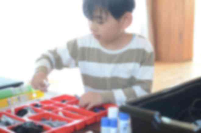 教育版レゴ® マインドストーム®EV3を使った授業の様子①