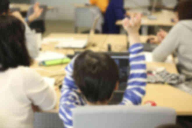 お子様一人での受講はもちろん、同一料金で親子受講が可能!