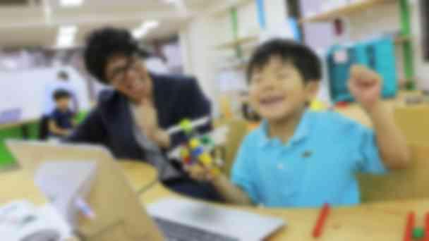 【ロボットクリエイトコース】ブロック教材でロボットを組み立て、プログラミングでを動かす