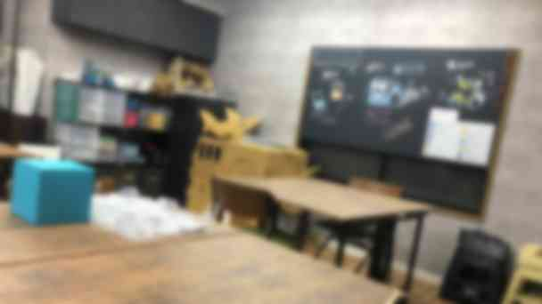 教室の内観です