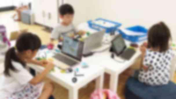 【KIDS】ロボットではロボットの組み立てから