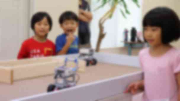ロボット試走。うまくいくかな~?ガンバレ!