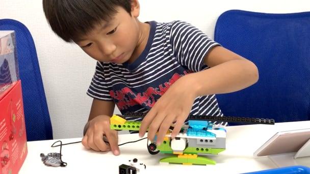 幼児~小学生低学年向けのレゴWeDo(保護者の付き添いもOKです)