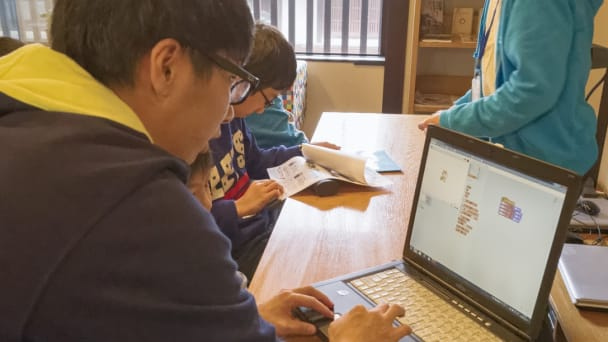京都駅前教室の授業