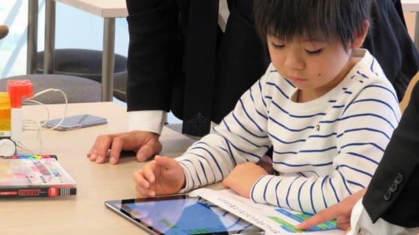 iPadを使ったプログラミングは幼稚園児でもかんたん