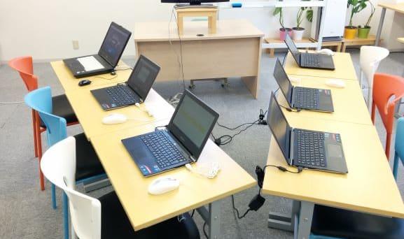 パソコンは各人1台準備