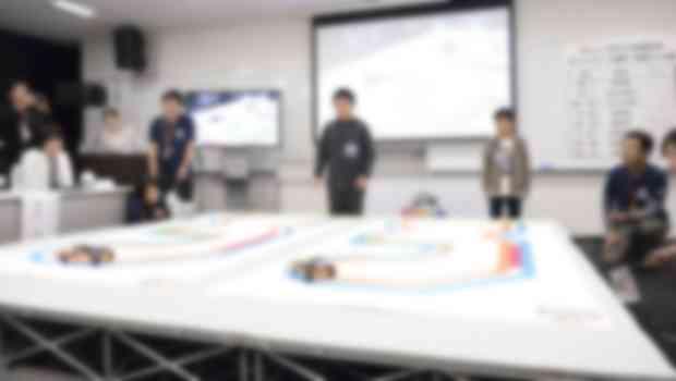 ヒューマンアカデミー ロボプロ全国大会の様子
