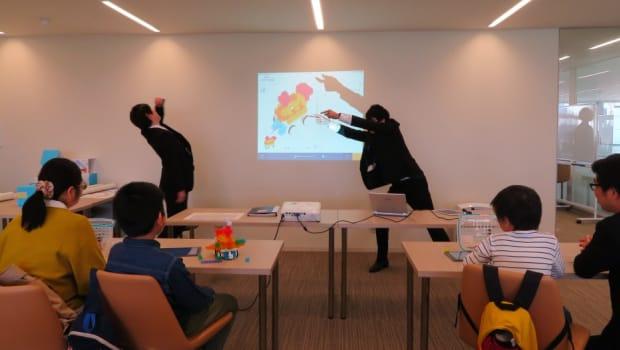 授業は先生の熱演で楽しくわかりやすい