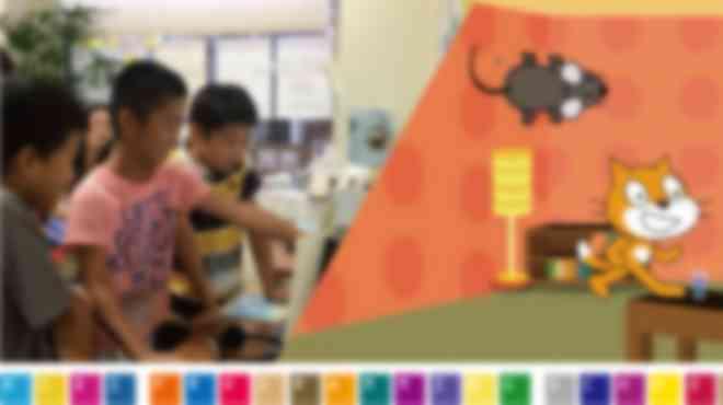 Scratchを使った直観学習なのでお子様も楽しめます