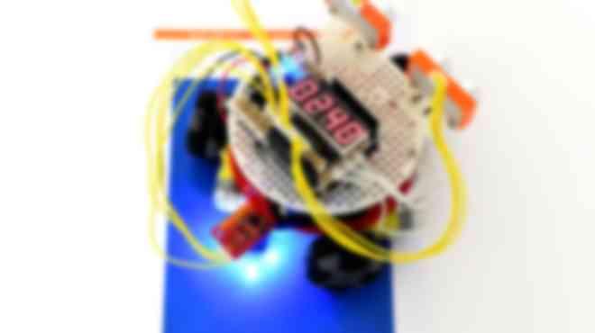 オムニホイールロボット