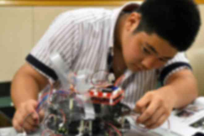 RoboCupサッカー自作ロボット製作中
