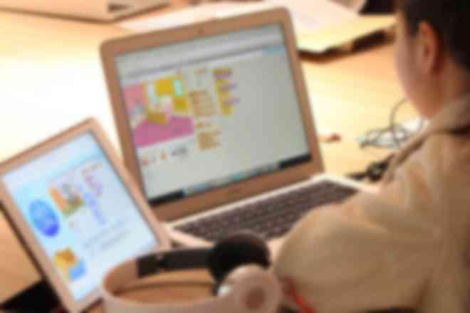Scratchを使ったプログラミング授業