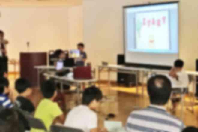 日頃の成果の学習発表会の様子