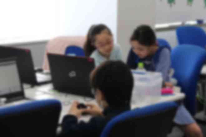 子どもたち自身で学習を進めるスタイル