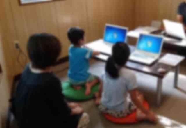 落ち着いた雰囲気の教室で学べます