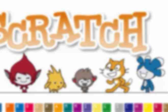 Scratchのゲーム作りでプログラミングを学べます