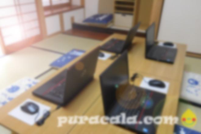 広々とした和室教室