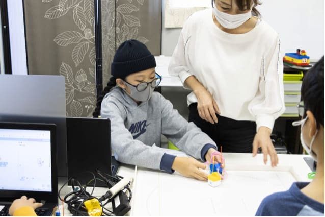 toio プログラミング教室
