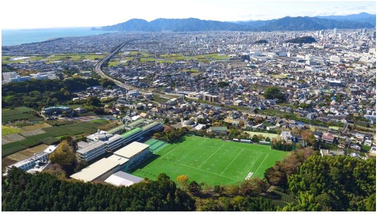 静岡聖光学院 校舎