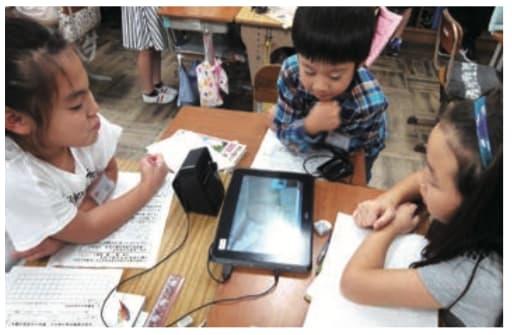 小学校 タブレット グループ学習