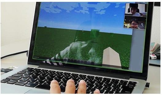 プログラミングオンライン学習子供向けの画面
