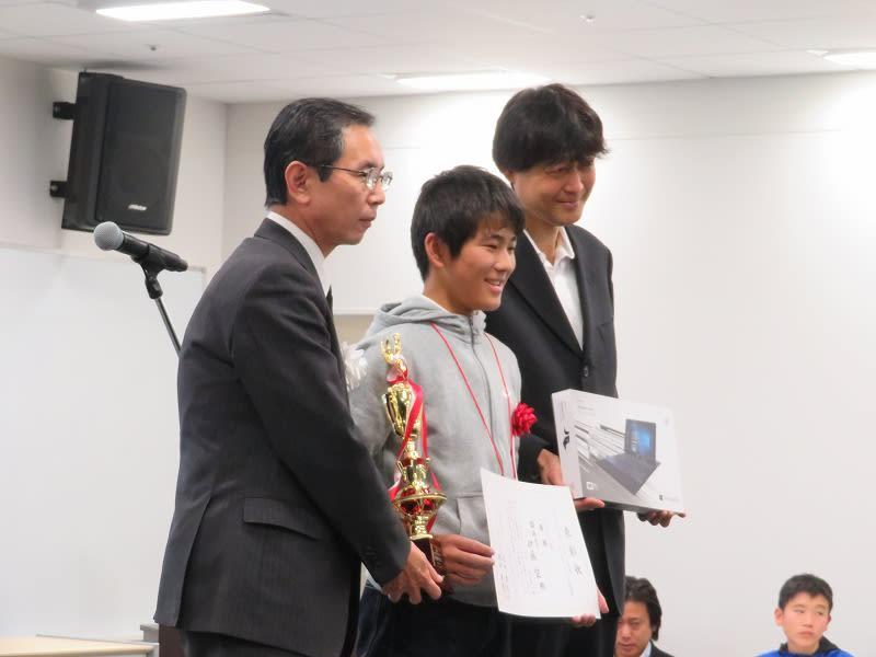 ヒューマンアカデミー ロボット教室 ロボティクスプロフェッサーコース 第1回ロボプロ全国大会 表彰風景