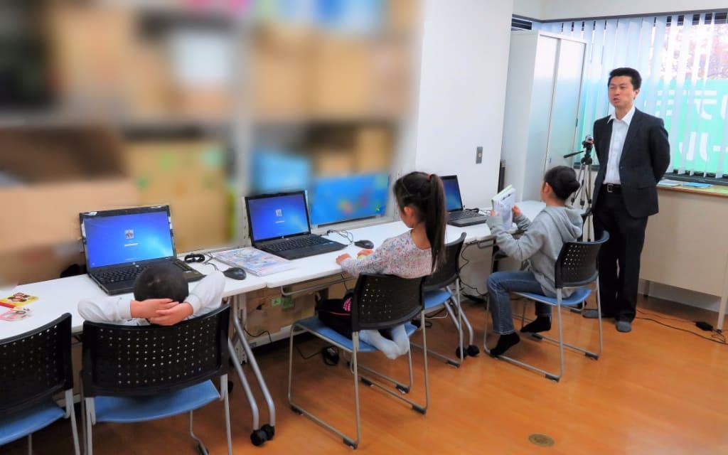 ヒューマンアカデミーアフタースクールの授業風景