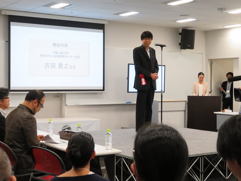 ヒューマンアカデミー ロボット教室 ロボティクスプロフェッサーコース 第1回ロボプロ全国大会 審査委員長 古田貴之氏