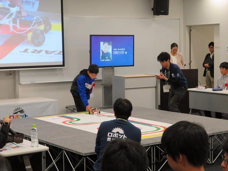 ヒューマンアカデミー ロボット教室 ロボティクスプロフェッサーコース 第1回ロボプロ全国大会 会場風景