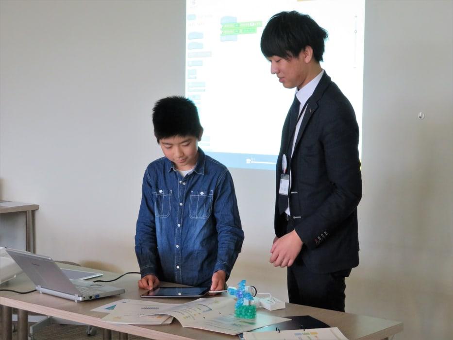 トライプログラミング教室発表