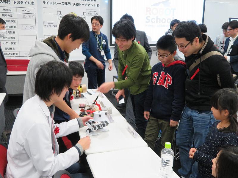 ヒューマンアカデミー ロボット教室 ロボティクスプロフェッサーコース 第1回ロボプロ全国大会 結果発表、表彰